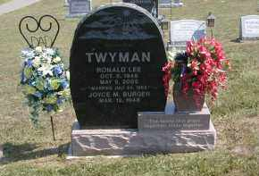 BURGER TWYMAN, JOYCE - Gallia County, Ohio | JOYCE BURGER TWYMAN - Ohio Gravestone Photos