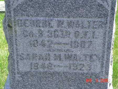 WALTER, SARAH M. - Gallia County, Ohio   SARAH M. WALTER - Ohio Gravestone Photos