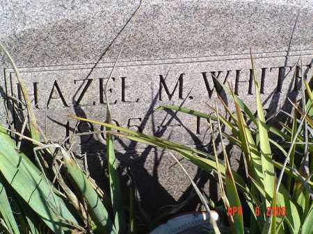 WHITE, HAZEL M. - Gallia County, Ohio   HAZEL M. WHITE - Ohio Gravestone Photos