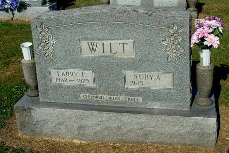 WILT, RUBY A - Gallia County, Ohio | RUBY A WILT - Ohio Gravestone Photos