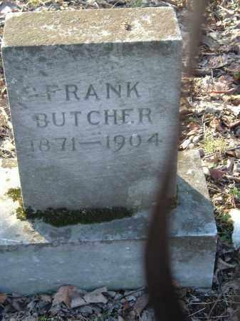 BUTCHER, FRANK - Gallia County, Ohio | FRANK BUTCHER - Ohio Gravestone Photos