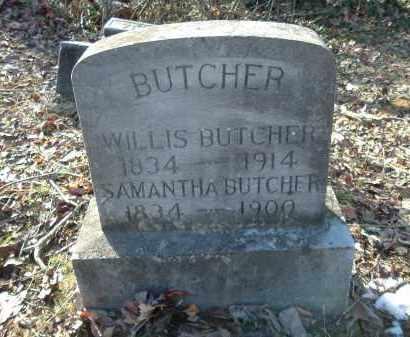 BUTCHER, WILLIS - Gallia County, Ohio | WILLIS BUTCHER - Ohio Gravestone Photos