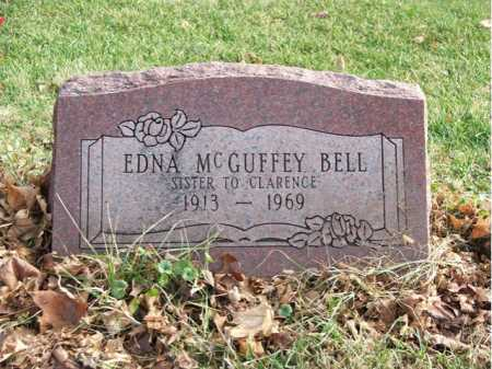 MCGUFFEY BELL, EDNA - Greene County, Ohio | EDNA MCGUFFEY BELL - Ohio Gravestone Photos