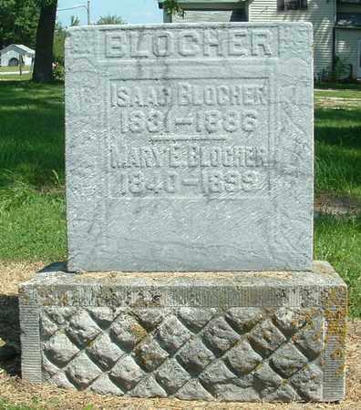 BLOCHER, ISAAC - Greene County, Ohio | ISAAC BLOCHER - Ohio Gravestone Photos
