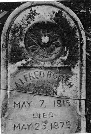 BOOTH, ALFRED - Greene County, Ohio   ALFRED BOOTH - Ohio Gravestone Photos