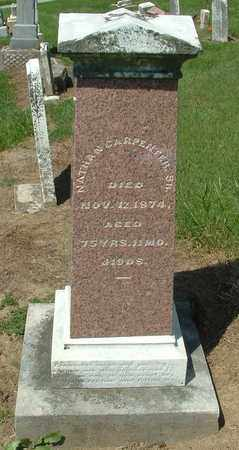 CARPENTER, SR., NATHAN - Greene County, Ohio | NATHAN CARPENTER, SR. - Ohio Gravestone Photos