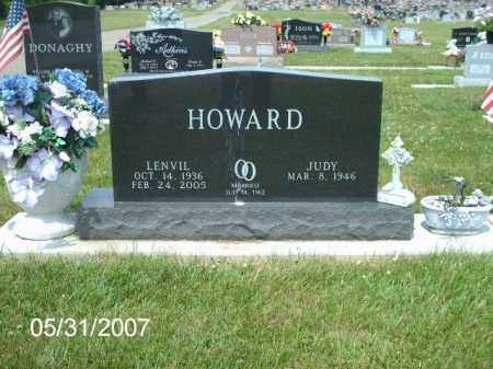 HOWARD, LENVIL - Greene County, Ohio | LENVIL HOWARD - Ohio Gravestone Photos