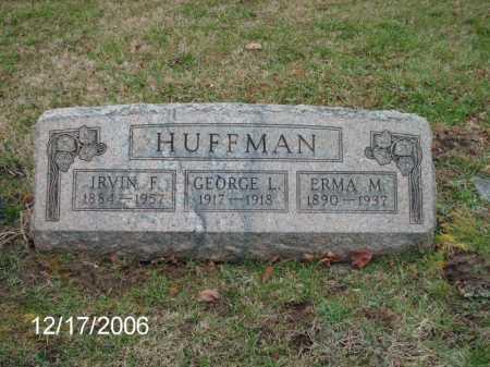 HUFFMAN, GEORGE LEWIS - Greene County, Ohio | GEORGE LEWIS HUFFMAN - Ohio Gravestone Photos