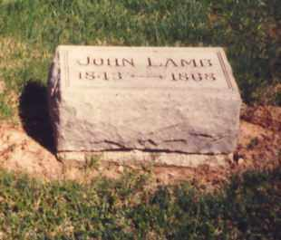 LAMB, JOHN - Greene County, Ohio | JOHN LAMB - Ohio Gravestone Photos
