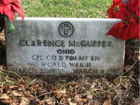 MCGUFFEY, CLARENCE - Greene County, Ohio   CLARENCE MCGUFFEY - Ohio Gravestone Photos