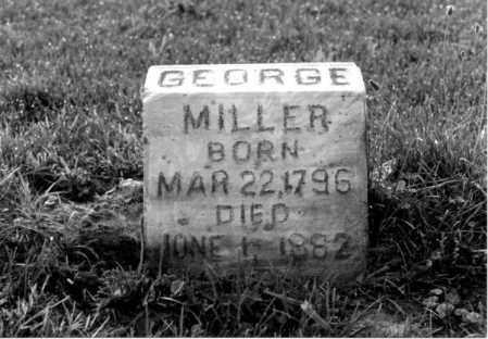 MILLER, GEORGE C. - Greene County, Ohio   GEORGE C. MILLER - Ohio Gravestone Photos