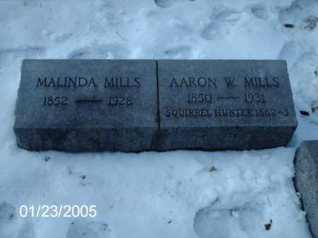 MILLS, MALINDA - Greene County, Ohio | MALINDA MILLS - Ohio Gravestone Photos
