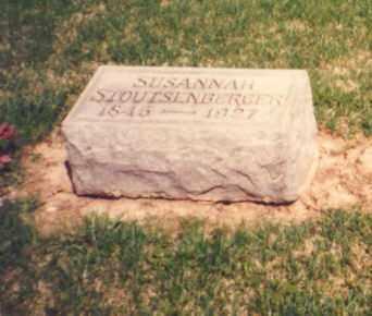 LAMB STOUTENBURGER, SUSANNAH - Greene County, Ohio   SUSANNAH LAMB STOUTENBURGER - Ohio Gravestone Photos