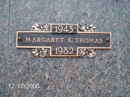 THARP THOMAS, MARGARET - Greene County, Ohio | MARGARET THARP THOMAS - Ohio Gravestone Photos