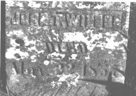 WILSON, JOHN T. - Greene County, Ohio   JOHN T. WILSON - Ohio Gravestone Photos