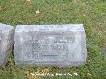 CORNWELL ZARTMAN, SARAH - Greene County, Ohio | SARAH CORNWELL ZARTMAN - Ohio Gravestone Photos