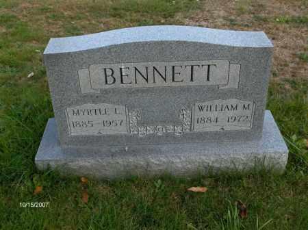 BENNET, WILLIAM - Guernsey County, Ohio | WILLIAM BENNET - Ohio Gravestone Photos