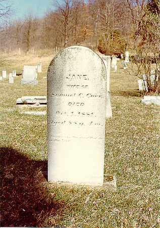 SCOTT CARR, JANE - Guernsey County, Ohio | JANE SCOTT CARR - Ohio Gravestone Photos