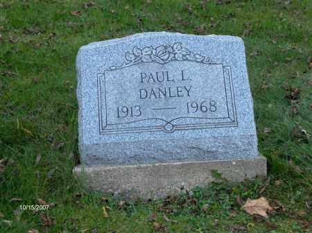 DANLEY, PAUL - Guernsey County, Ohio | PAUL DANLEY - Ohio Gravestone Photos