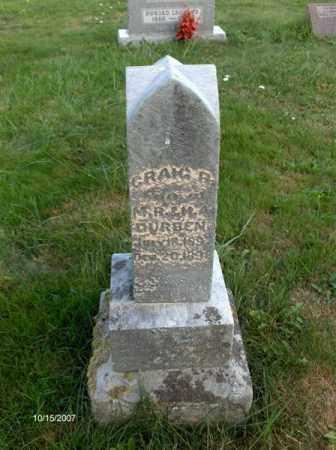 DURBEN, CRAIG - Guernsey County, Ohio | CRAIG DURBEN - Ohio Gravestone Photos