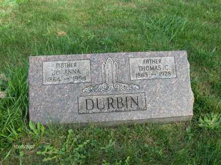 DURBEN, THOMAS CHADWELL - Guernsey County, Ohio | THOMAS CHADWELL DURBEN - Ohio Gravestone Photos