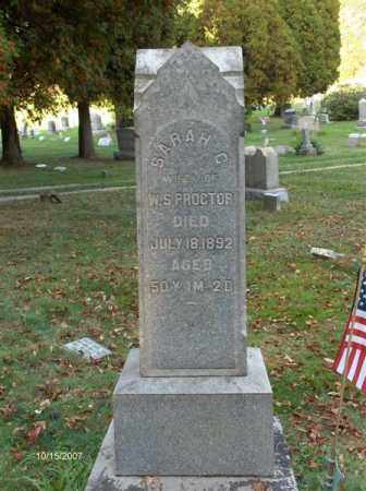 MCKIM PROCTOR, SARAH CATHARINE - Guernsey County, Ohio | SARAH CATHARINE MCKIM PROCTOR - Ohio Gravestone Photos