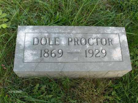 CRAIG PROCTOR, VANDOLA - Guernsey County, Ohio | VANDOLA CRAIG PROCTOR - Ohio Gravestone Photos