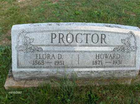 PROCTOR, WILLIAM HOWARD - Guernsey County, Ohio | WILLIAM HOWARD PROCTOR - Ohio Gravestone Photos