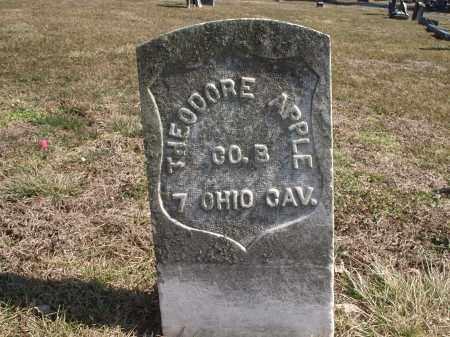 APPLE, THEODORE - Hamilton County, Ohio | THEODORE APPLE - Ohio Gravestone Photos