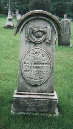BUXTON, AMOS D. - Hamilton County, Ohio   AMOS D. BUXTON - Ohio Gravestone Photos