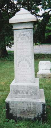 LAMBORN BUXTON, HANNAH - Hamilton County, Ohio   HANNAH LAMBORN BUXTON - Ohio Gravestone Photos