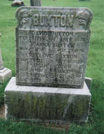 CONKLIN BUXTON, JOANNA - Hamilton County, Ohio | JOANNA CONKLIN BUXTON - Ohio Gravestone Photos