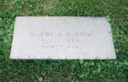 BUXTON, HARRY H. - Hamilton County, Ohio | HARRY H. BUXTON - Ohio Gravestone Photos