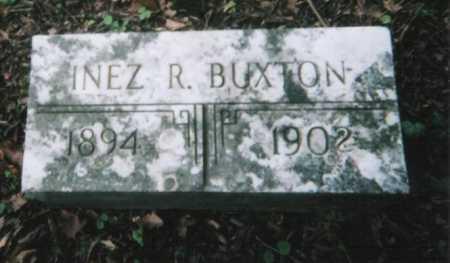 BUXTON, INEZ R. - Hamilton County, Ohio   INEZ R. BUXTON - Ohio Gravestone Photos