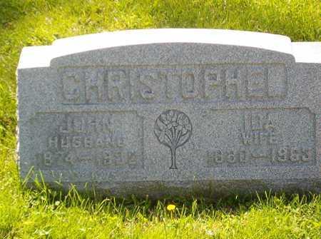 CHRISTOPHEL, IDA - Hamilton County, Ohio | IDA CHRISTOPHEL - Ohio Gravestone Photos