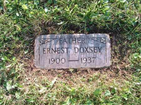 DOXSEY, ERNEST - Hamilton County, Ohio   ERNEST DOXSEY - Ohio Gravestone Photos