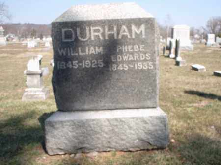 DURHAM, WILLIAM - Hamilton County, Ohio | WILLIAM DURHAM - Ohio Gravestone Photos