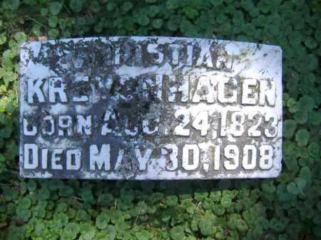 KREYENHAGEN, CHRISTIAN - Hamilton County, Ohio | CHRISTIAN KREYENHAGEN - Ohio Gravestone Photos