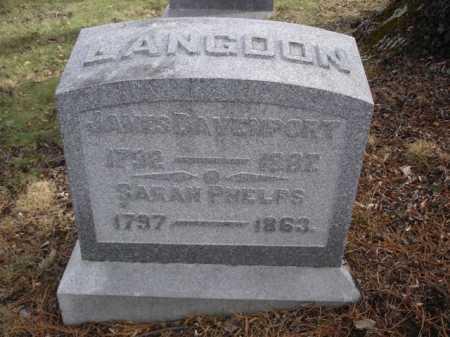 LANGDON, JAMES - Hamilton County, Ohio | JAMES LANGDON - Ohio Gravestone Photos