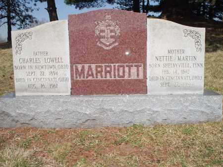 MARRIOTT, NETTIE - Hamilton County, Ohio | NETTIE MARRIOTT - Ohio Gravestone Photos
