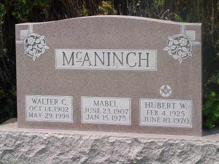 MCANINCH, MABEL - Hamilton County, Ohio | MABEL MCANINCH - Ohio Gravestone Photos