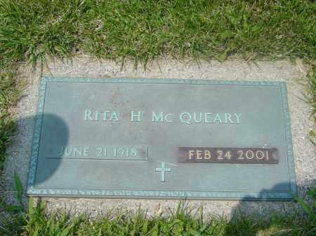 MCQUEARY, RITA - Hamilton County, Ohio | RITA MCQUEARY - Ohio Gravestone Photos