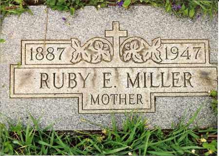 MILLER, RUBY E. - Hamilton County, Ohio | RUBY E. MILLER - Ohio Gravestone Photos