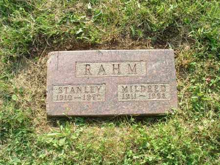 RAHM, STANLEY FRANCIS - Hamilton County, Ohio | STANLEY FRANCIS RAHM - Ohio Gravestone Photos