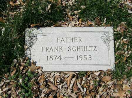SCHULTZ, FRANK - Hamilton County, Ohio | FRANK SCHULTZ - Ohio Gravestone Photos