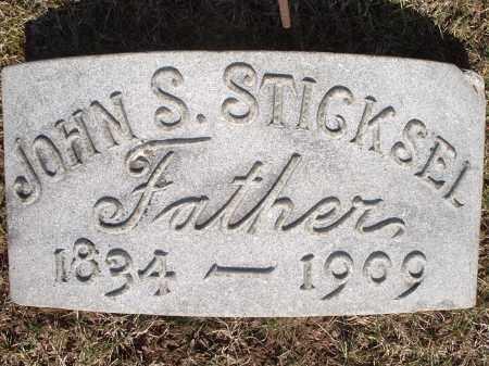 STICKSEL, JOHN - Hamilton County, Ohio | JOHN STICKSEL - Ohio Gravestone Photos