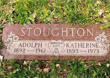 STOUGHTON, KATHERINE ANNA ELIZABETH - Hamilton County, Ohio | KATHERINE ANNA ELIZABETH STOUGHTON - Ohio Gravestone Photos