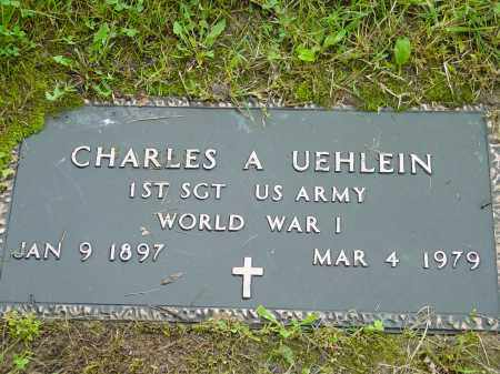 UEHLEIN, CHARLES AUGUST - Hamilton County, Ohio   CHARLES AUGUST UEHLEIN - Ohio Gravestone Photos