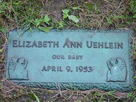 UEHLEIN, ELIZABETH - Hamilton County, Ohio   ELIZABETH UEHLEIN - Ohio Gravestone Photos