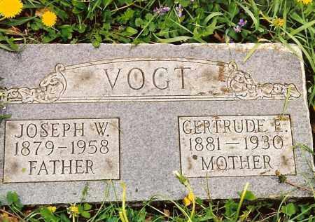 VOGT, JOSEPH W. - Hamilton County, Ohio | JOSEPH W. VOGT - Ohio Gravestone Photos